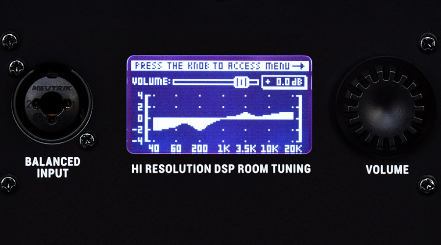KRK ROKIT G4 DSP-driven room tuning