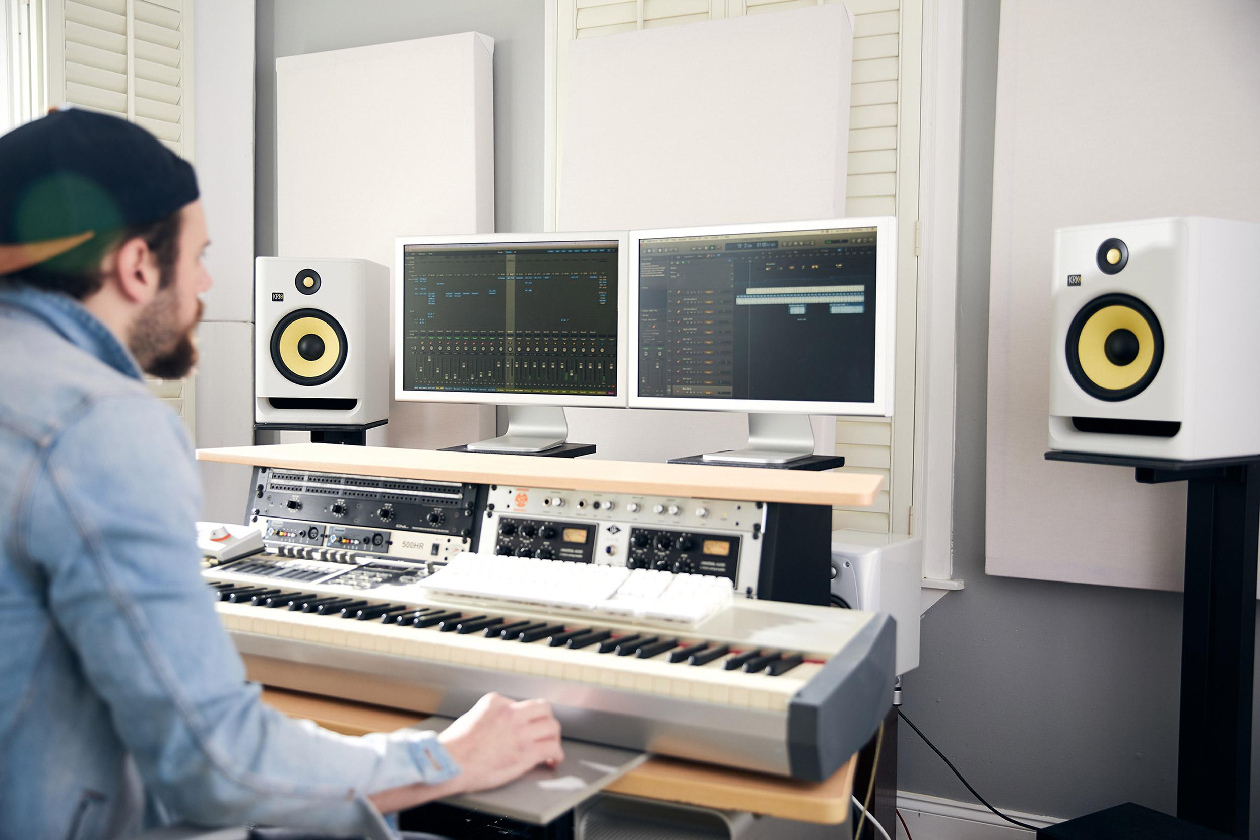 KRK ROKIT G4 White Noise - Your Creation Environment