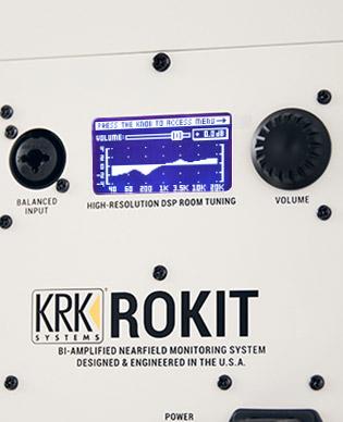 KRK ROKIT G4 - Graphic EQ